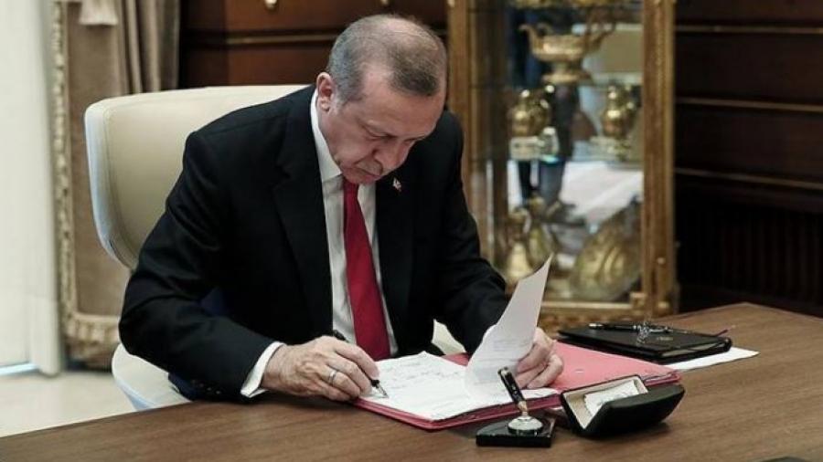 Cumhurbaşkanı Recep Tayyip Erdoğan 7141, 7142, 7143 Sayılı Kanunları Onayladı